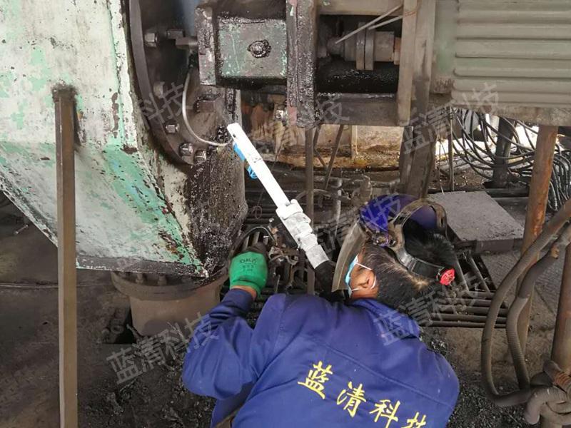设备及生产线干冰去除油污