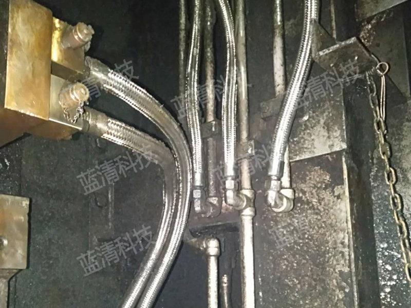 轧钢机干冰清洗前后