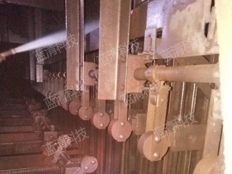 电除尘器高压水清洗