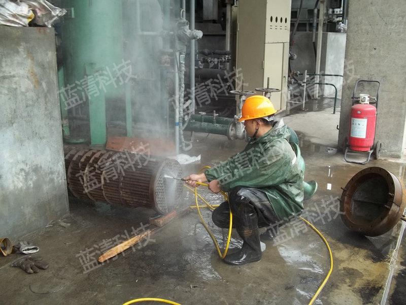 换热器高压水清洗